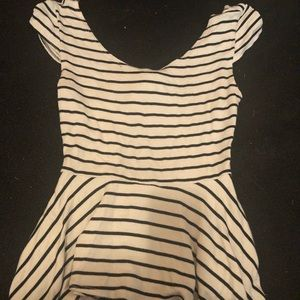 Charlotte Russe striped shirt (S)